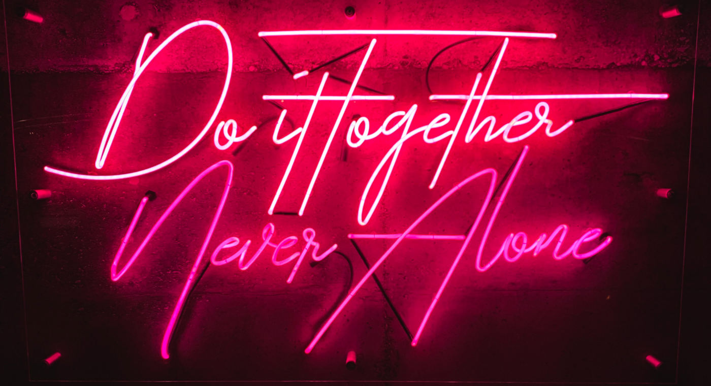 do it together never alone