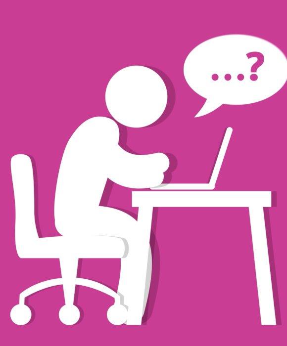 Icon zum Thema Recht Fragen zu stellen während einer Virtuellen Hauptversammlung, die mithilfe des Live Streaming Anbieters Mainfilm realisiert werden kann