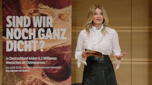 Hybrid Event Osteoporose Frauke Ludowig Live Streaming Anbieter Mainfilm